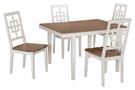 Signature Design Brovada Dining Room 5-Pc Table Set - Ashley Furniture D298-225