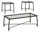Signature Design Burmesque Occasional 3-Pc Table Set - Ashley Furniture T004-13