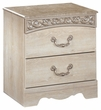 Signature Design Catalina Two Drawer Night Stand - Ashley Furniture B196-92