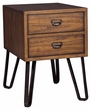 Signature Design Centair Chair Side End Table - Ashley Furniture T762-7