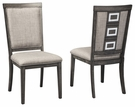 Signature Design Chadoni Dining Upholstered Side Chair (Set of 2) - Ashley Furniture D624-01