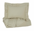 Signature Design Chamness Queen Duvet Cover Set in Sand - Ashley Furniture Q249013Q
