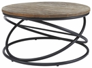 Signature Design Charliburi Round Cocktail Table - Ashley Furniture T644-8