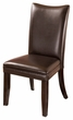 Signature Design Charrell Dining Brown Upholstered Side Chair (Set of 2) - Ashley Furniture D357-01