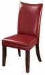 Signature Design Charrell Red Dining Upholstered Side Chair (Set of 2) - Ashley Furniture D357-03