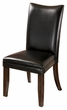 Signature Design Charrell Dining Black Upholstered Side Chair (Set of 2) - Ashley Furniture D357-04