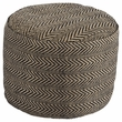 Signature Design Chevron Pouf - Ashley Furniture A1000438