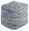 Signature Design Chevron Pouf - Ashley Furniture A1000445