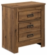 Signature Design Cinrey Two Drawer Night Stand - Ashley Furniture B369-92