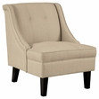 Signature Design Clarinda Cream Accent Chair - Ashley Furniture 3623060