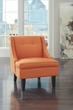 Signature Design Clarinda Orange Accent Chair - Ashley Furniture 3623160