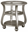 Signature Design Coralayne Round End Table - Ashley Furniture T820-6