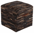 Signature Design Cowhide Pouf - Ashley Furniture A1000448