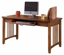 Signature Design Cross Island Home Office Large Leg Desk - Ashley Furniture H319-44