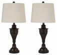 Signature Design Darlita Metal Table Lamp (Set of 2) - Ashley Furniture L204024
