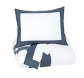 Signature Design Daruka Queen Duvet Cover Set - Ashley Furniture Q248013Q