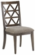 Signature Design Devasheen Dining Upholstered Side Chair (Set of 2) - Ashley Furniture D687-01