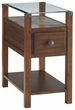 Signature Design Diamenton Dark Brown Chair Side End Table - Ashley Furniture T217-533