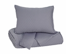 Signature Design Dietrick Queen Quilt Set in Gray - Ashley Furniture Q256023Q