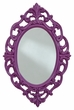 Signature Design Diza Accent Mirror in Purple - Ashley Furniture A8010102