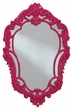 Signature Design Diza Accent Mirror in Pink - Ashley Furniture A8010103