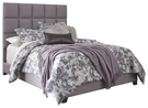 Signature Design Dolante Queen Upholstered Bed in Gray - Ashley Furniture B130-381