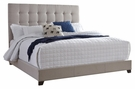 Signature Design Dolante Queen Upholstered Bed in Beige - Ashley Furniture B130-581
