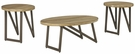 Signature Design Dougetti Occasional 3-Pc Table Set - Ashley Furniture T298-13