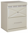 Signature Design Dreamur Two Drawer Night Stand - Ashley Furniture B351-92