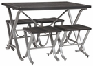 Signature Design Elistree Dining Room 5-Pc Table Set - Ashley Furniture D321-225