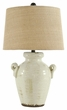 Signature Design Emelda Ceramic Table Lamp - Ashley Furniture L100664