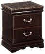 Signature Design Esmarelda Two Drawer Night Stand - Ashley Furniture B179-92