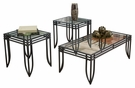 Signature Design Exeter Occasional 3-Pc Table Set - Ashley Furniture T113-13