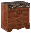 Signature Design Fairbrooks Estate Two Drawer Night Stand - Ashley Furniture B105-92