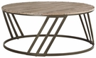 Signature Design Fathenzen Round Cocktail Table - Ashley Furniture T536-8