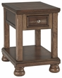 Signature Design Flynnter Chair Side End Table - Ashley Furniture T716-3