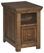 Signature Design Flynnter Chair Side End Table - Ashley Furniture T919-7