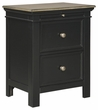 Signature Design Froshburg Two Drawer Night Stand - Ashley Furniture B628-92