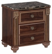 Signature Design Gabriela Two Drawer Night Stand - Ashley Furniture B347-92