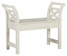 Signature Design Heron Ridge White Accent Bench - Ashley Furniture A4000036