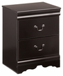 Signature Design Huey Vineyard Two Drawer Night Stand - Ashley Furniture B128-92