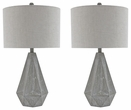 Signature Design Ibby Poly Table Lamp (Set of 2) - Ashley Furniture L235554