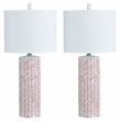 Signature Design Jaci Ceramic Table Lamp (Set of 2) - Ashley Furniture L100594