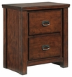 Signature Design Ladiville Two Drawer Night Stand - Ashley Furniture B567-92