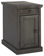 Signature Design Laflorn Chair Side End Table in Gray - Ashley Furniture T127-485