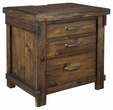 Signature Design Lakeleigh Three Drawer Night Stand - Ashley Furniture B718-93