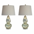 Signature Design Laraine Glass Table Lamp (Set of 2) - Ashley Furniture L430554