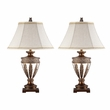 Signature Design Lavern Poly Table Lamp (Set of 2) - Ashley Furniture L512014