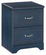 Signature Design Leo Two Drawer Night Stand - Ashley Furniture B103-92