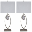 Signature Design Lindsy Metal Table Lamp (Set of 2) - Ashley Furniture L207214